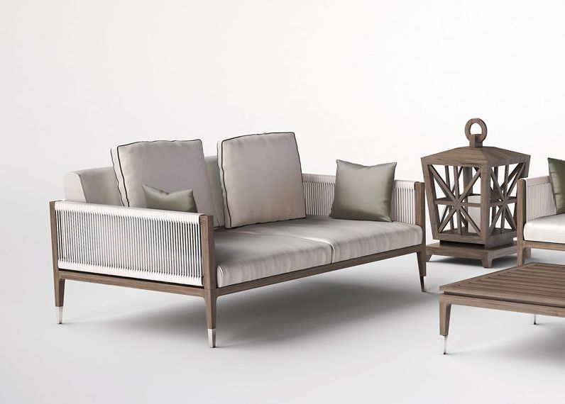 The Amalfi Garden Sofa Is Part Of An Exclusive Garden Furniture Collection  From Smania, Italy.