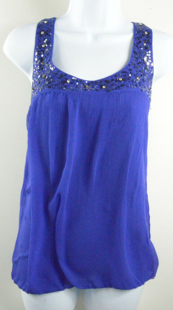 KOOKAI 100% Silk Blue Sleeveless Top UK Size 14 EUR 42  fashion  clothing   shoes  accessories  womensclothing  tops (ebay link) 1f8697cd1