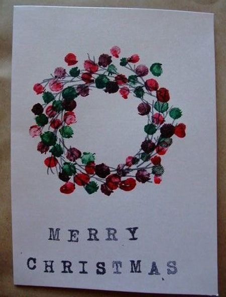 Best Easy DIY Christmas Card Ideas #easydiy