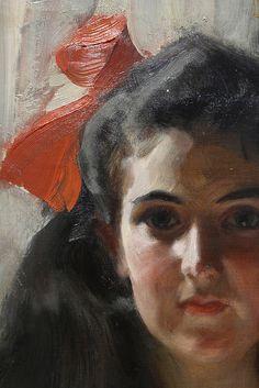 Omnibus Study Oil Sketch 1892 Anders Zorn Swedish 1860 Figure Painting Portrait Painting Artist