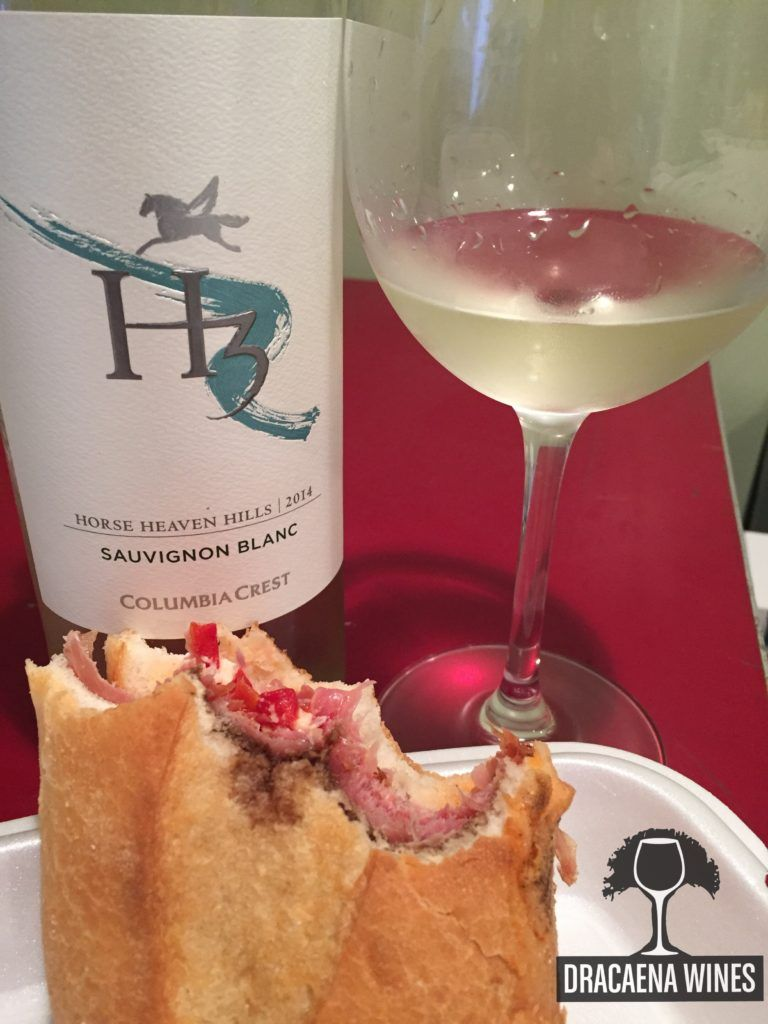 Columbia Crest H3 Sauvignon Blanc Paired With Fresh Mozzarella Roasted Peppers Wine Recipes Wine Food Pairing Food Pairings