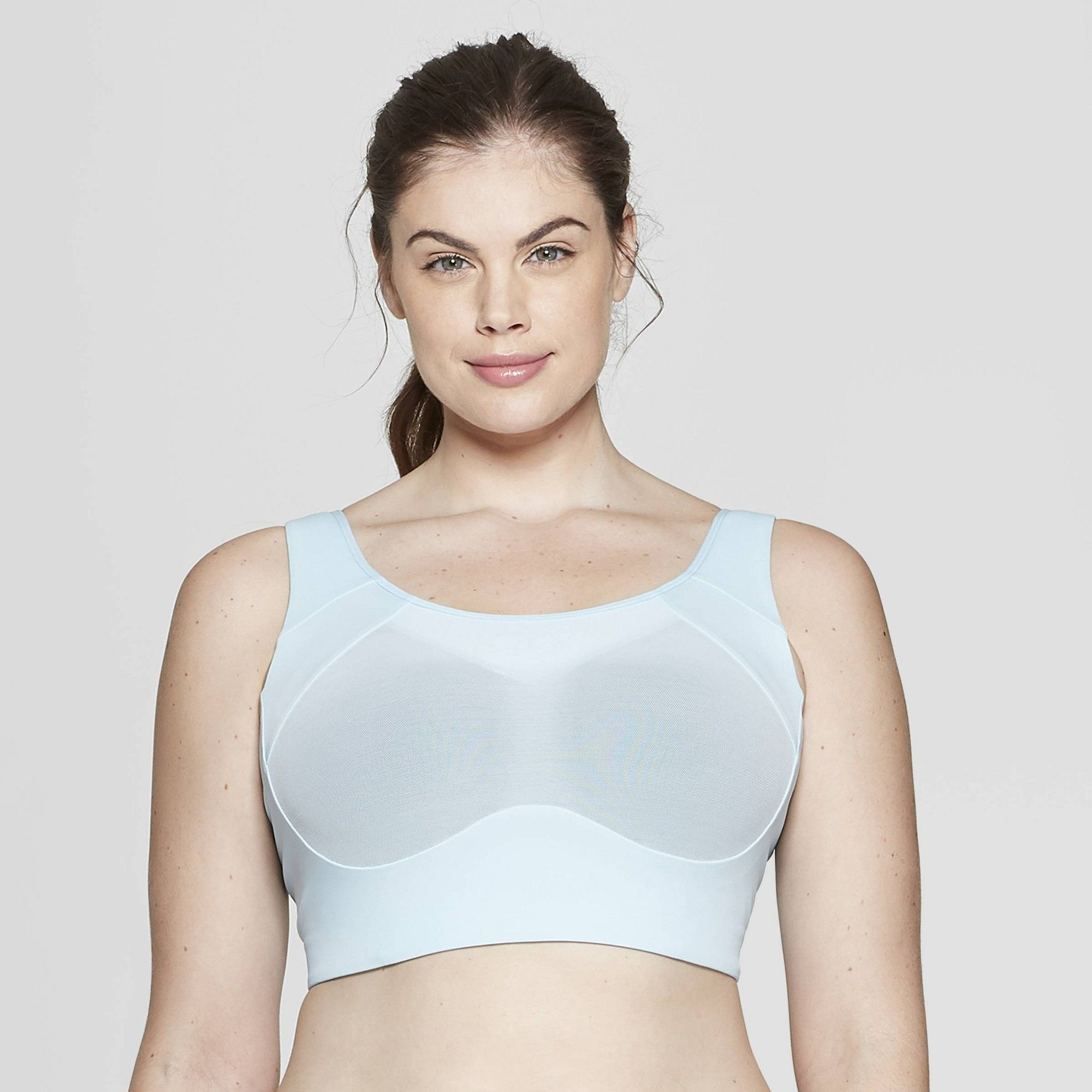 c1b1ceeda5d39 Plus Size Women s Plus Ventilated Sports Bra - C9 Champion Ice Blue ...