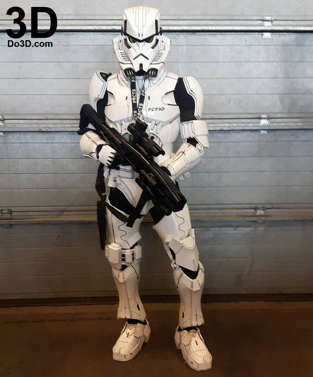 3d Printable Model Variant Star Wars Stormtrooper Full Body Armor