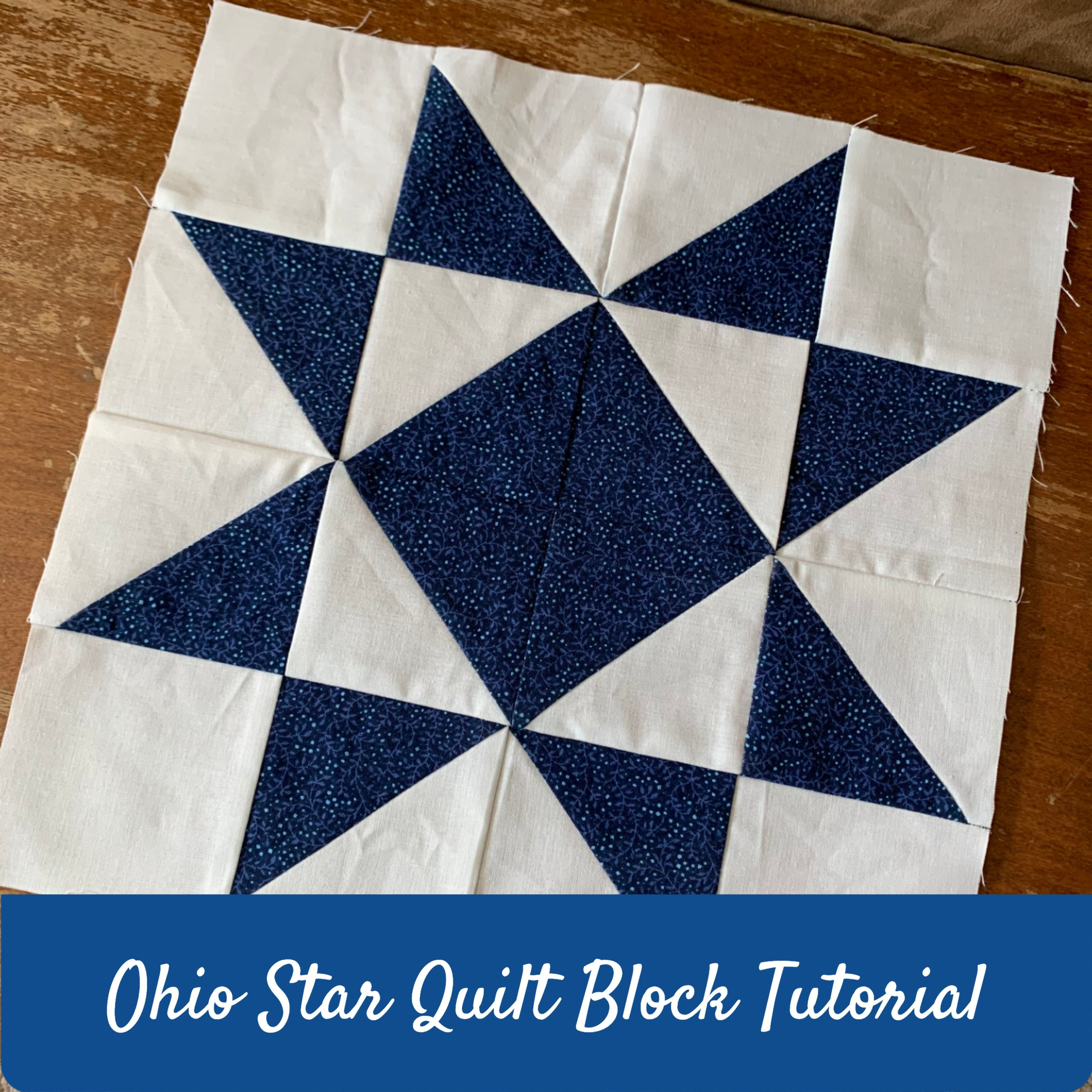 How To Make The Ohio Star Quilt Block Technique Tuesday Quilt Blocks Quilt Block Tutorial Quilts