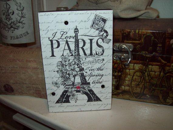 EIFFEL Tower block sign PARIS decor,Paris theme,Paris bedroom decor ...