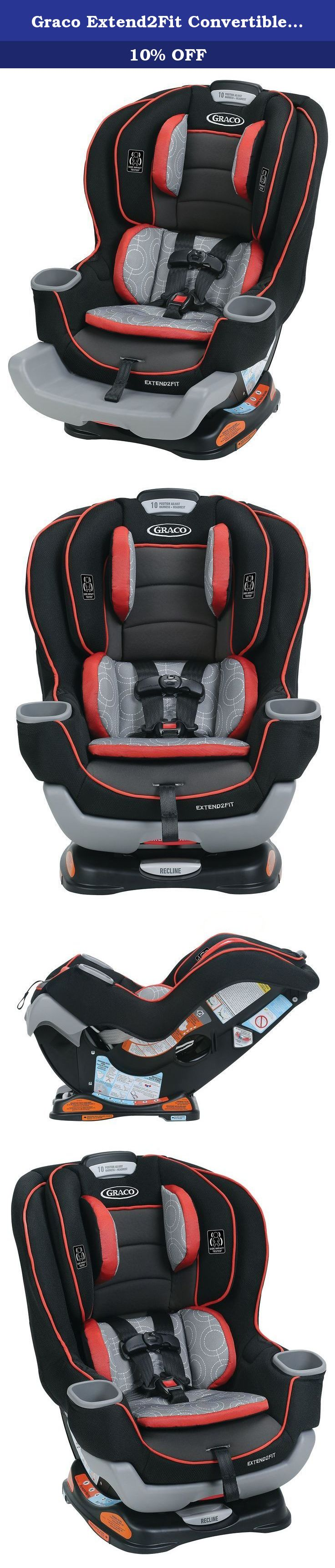 Graco Extend2Fit Convertible Car Seat Solar The American Academy Of Pediatrics Recommends Children Ride