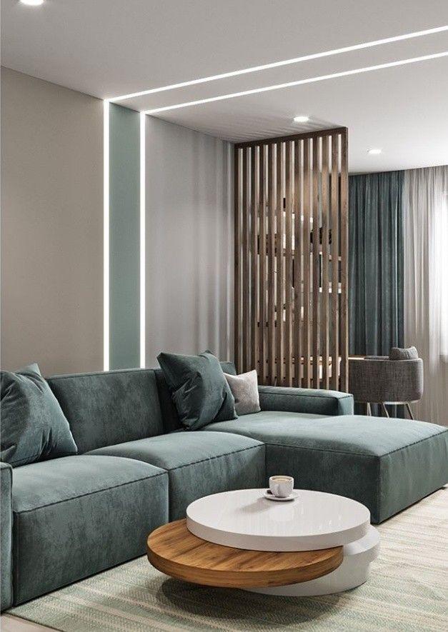 Living Room Living Raumteiler Room Wohnzimmer Ideen Wohnung