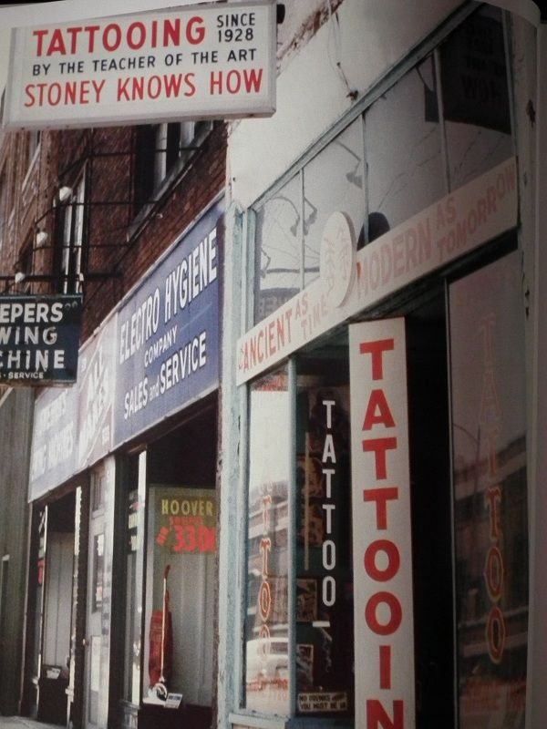 The outside of Stoney\'s last shop. Columbus, OH | Tattoo History ...
