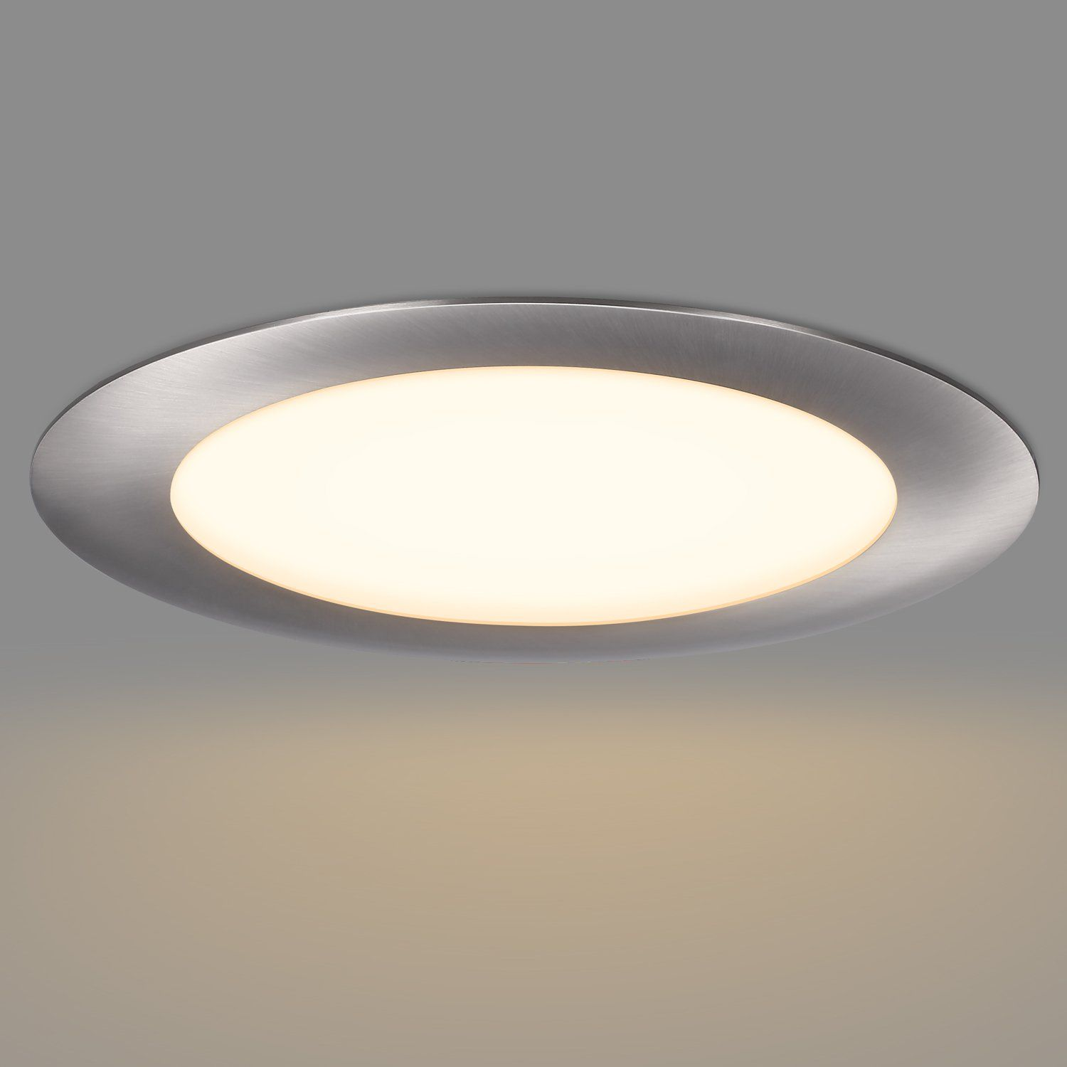 Getinlight Slim Dimmable 6 Inch Led Recessed Lighting Round