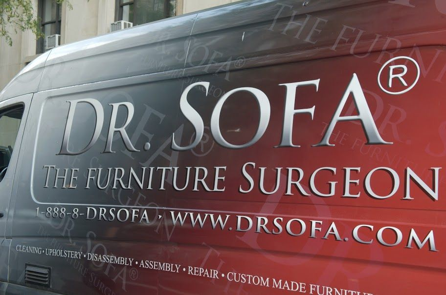 One Of The Dr Sofa Vans Sofa Furniture Restoration Disassembly