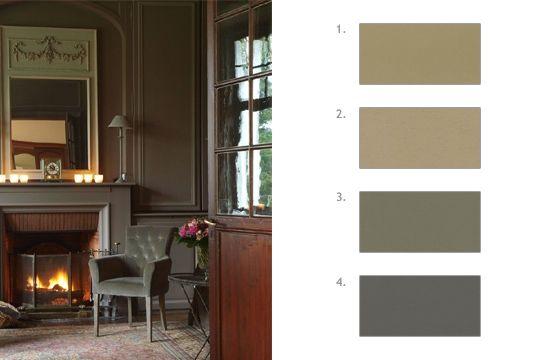 Déco  90 couleurs pour tout repeindre Les brunes, Repeindre et Brun - Repeindre Une Porte En Bois