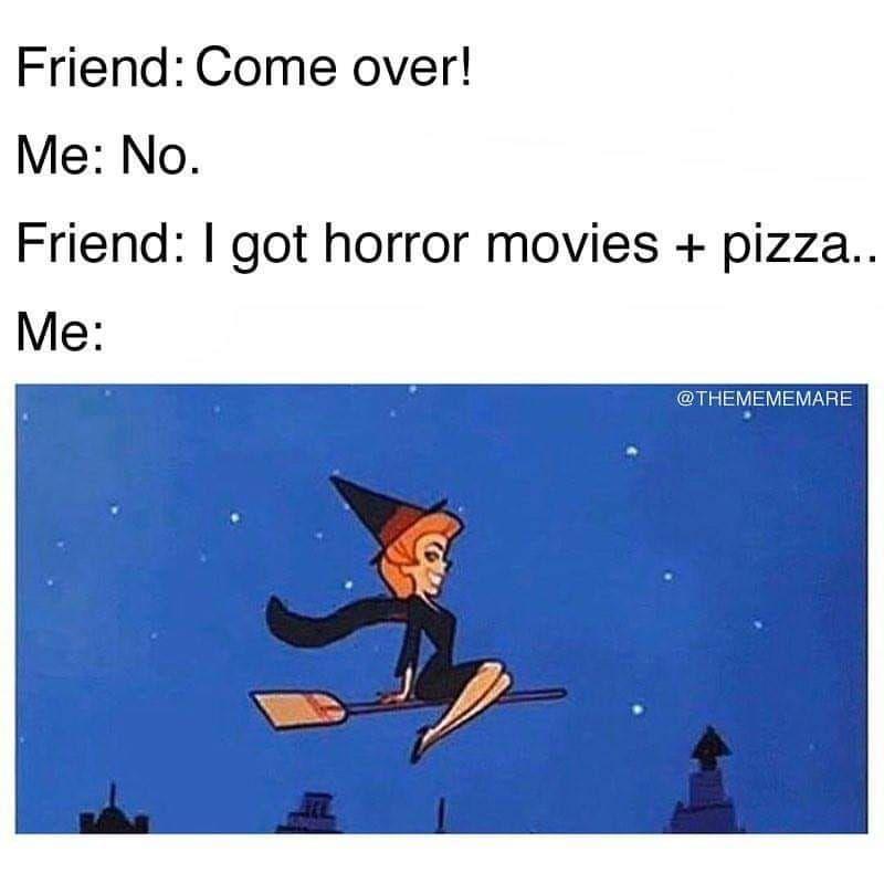 #horrormovies #pizza #horror #comeover