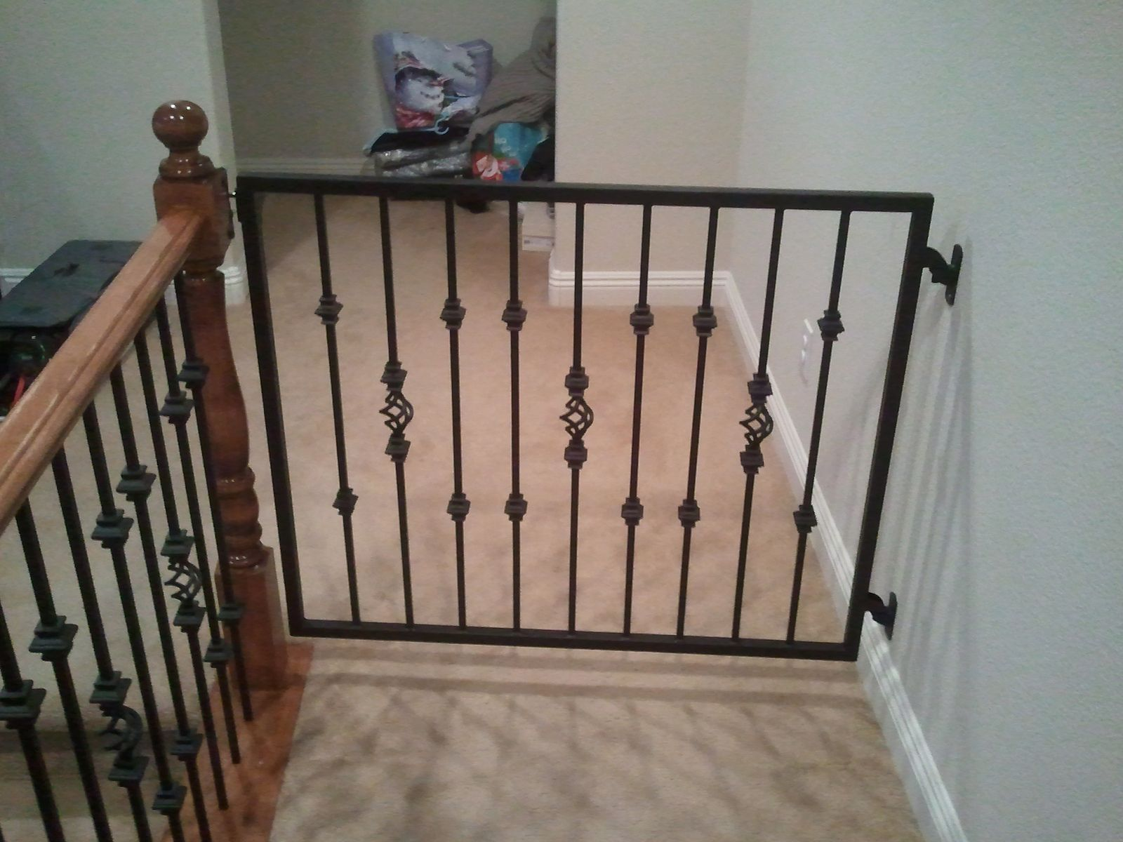 Steel Baby Gate Baby Gates Metal Baby Gate Pet Gates For Stairs | Steel Gates And Stairs | Dreamstime | Handrail | Stainless Steel | Fence Gate | Egress