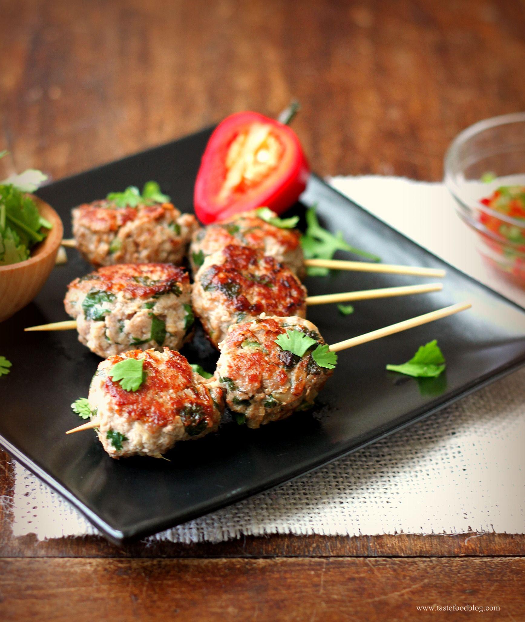 recipe: chinese turkey meatballs [19]