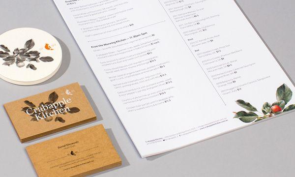 Crabapple Kitchen designed by Swear Words