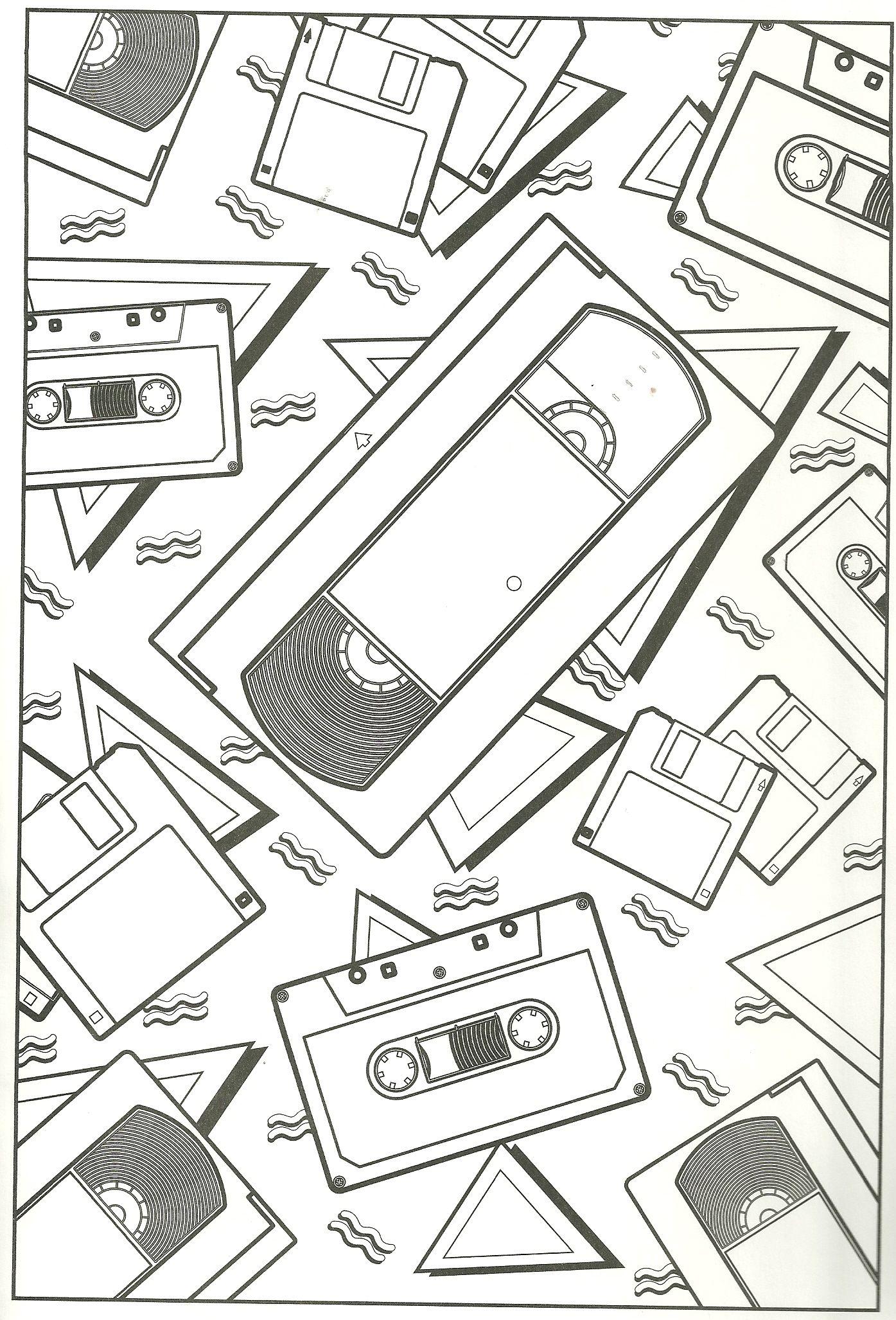 Tdk Vhs Tape Diagram