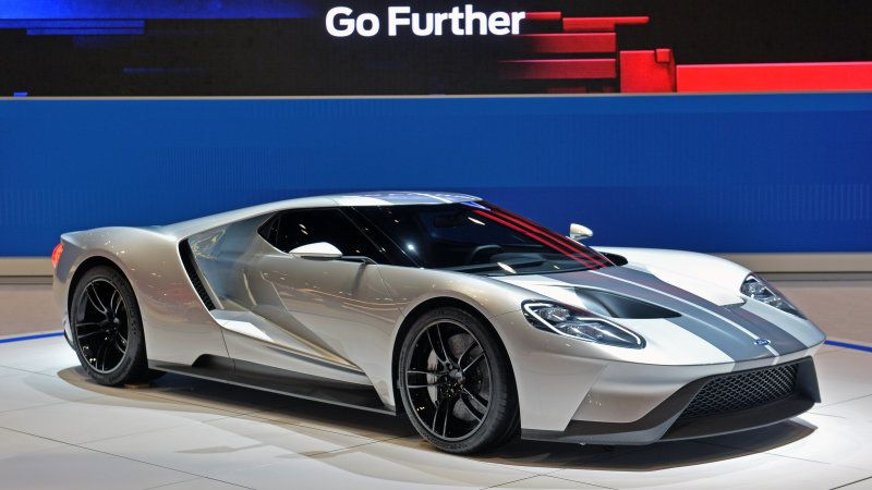 The  Ford Gt Has Been Confirmed For Production At Fords Factory In Markham Ontario It Is Now Being Shown In Silver At The  Chicago Auto Show