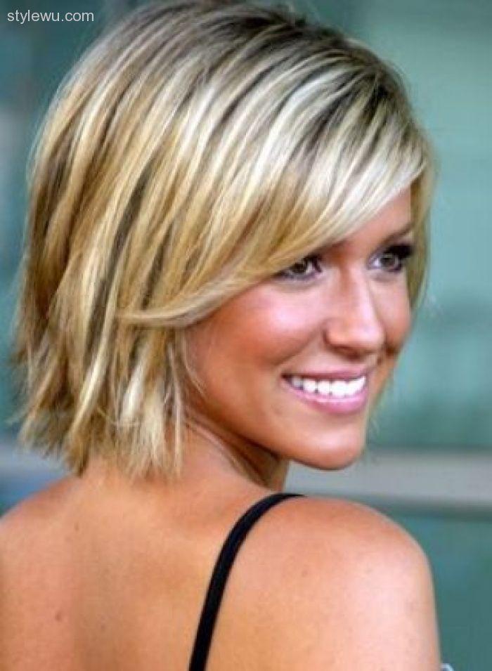 55 Short Medium Hairstyles for Fine Hair Lovely Medium Short ...