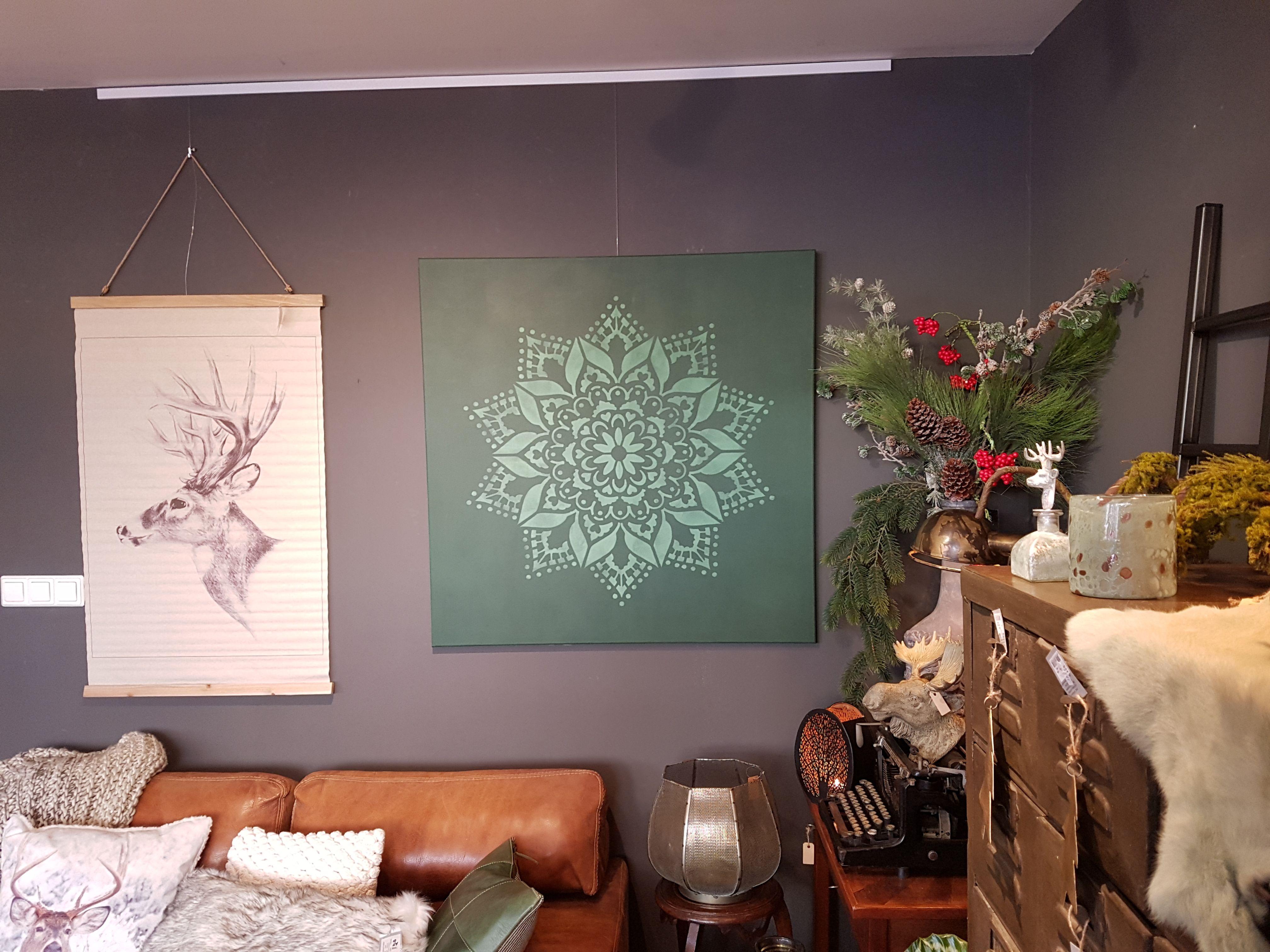 wanddecoratie schilderij in diverse kleuren te bestellen, Gaaf voor ...
