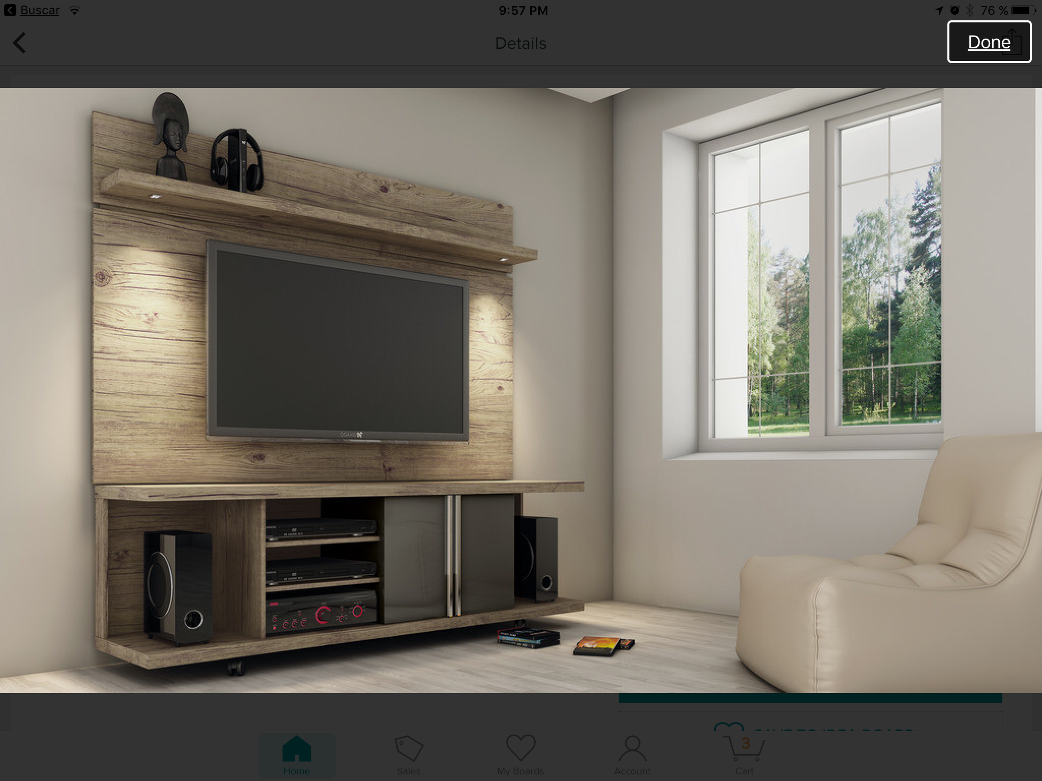 product image for Manhattan Comfort Carnegie TV Stand and