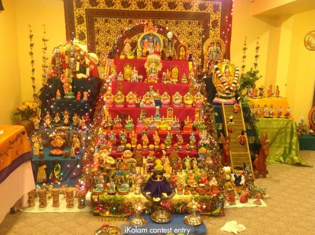 Janaki's Golu and Theme | Diy golu dolls, Janmashtami decoration, Golu