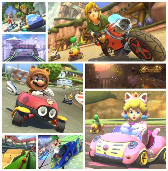 Mario Kart 8 gets two DLC packs leaked, features multiple content from Zelda (Link is playable!), #ACNL, F-Zero, Super Mario 3D World, etc...