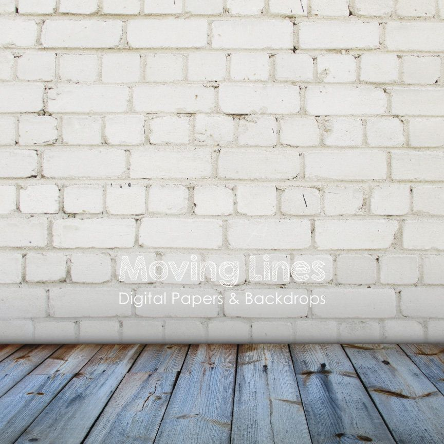 Digital Photo Props White Brick Wall Photography Backdrop Etsy Photography Wall Photography Backdrop Picture Props