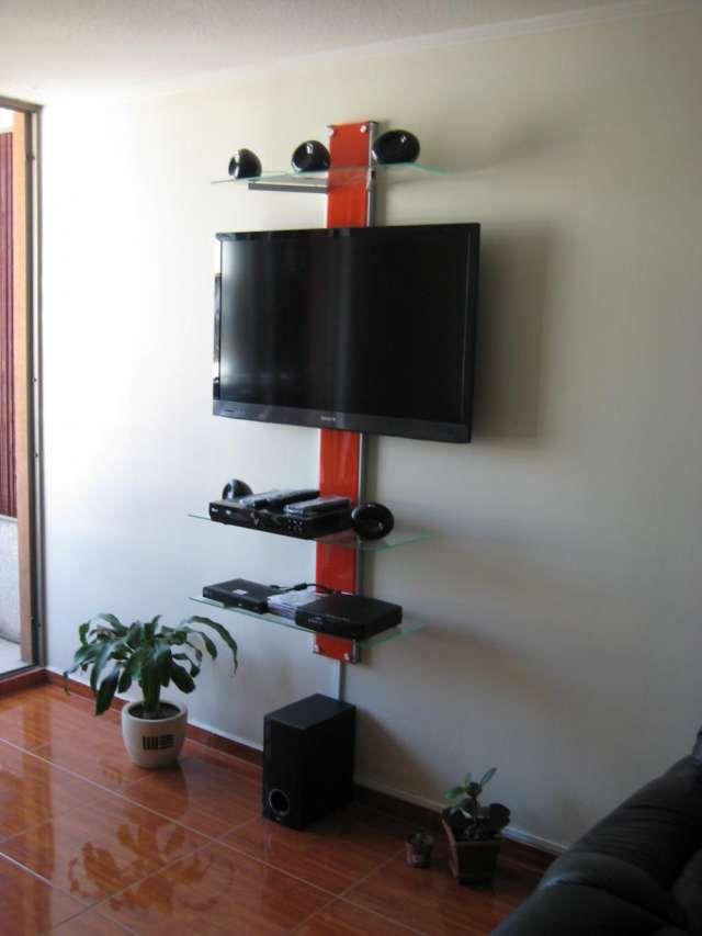 Soporte para televisores rack para tv lcd led soportes - Mesas para televisores plasma ...
