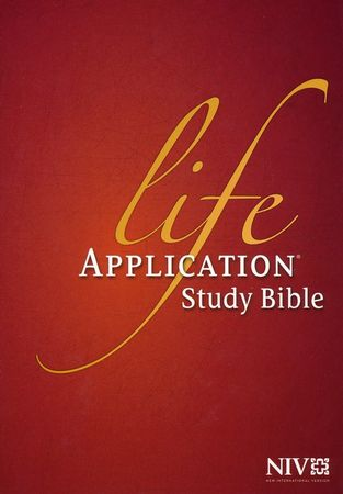 NIV Life Application Study Bible 2nd Edition, Indexed