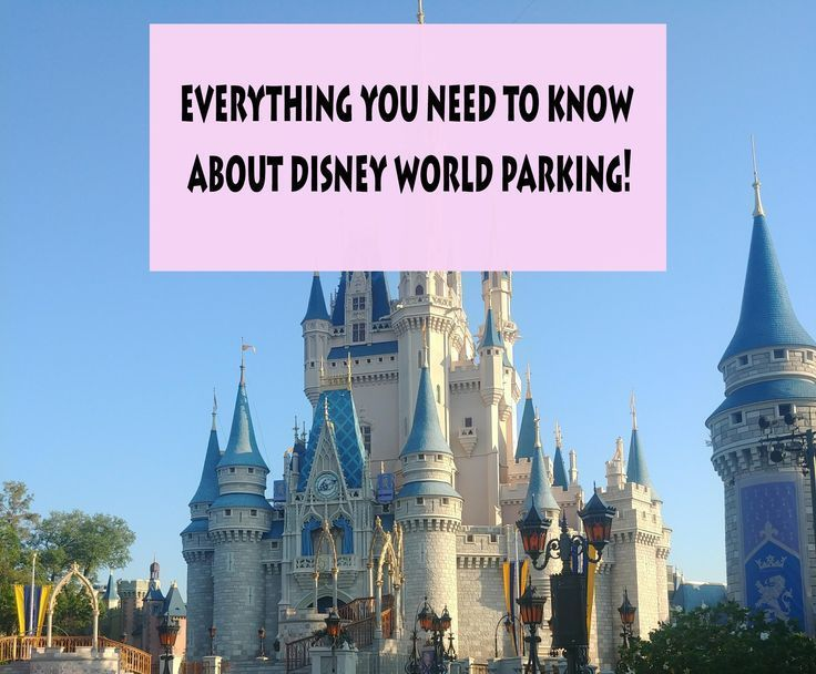 Click here to learn about parking at disney world theme