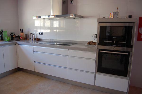 cocinas integrales pequeñas - Buscar con Google Casa Chia - Cocinas Integrales Blancas
