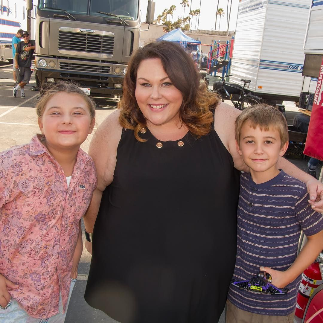 Debra Jo Rupp Boobs Pretty chrissy metz (kate) with makenzie hancsiksak (8 yr old kate) and