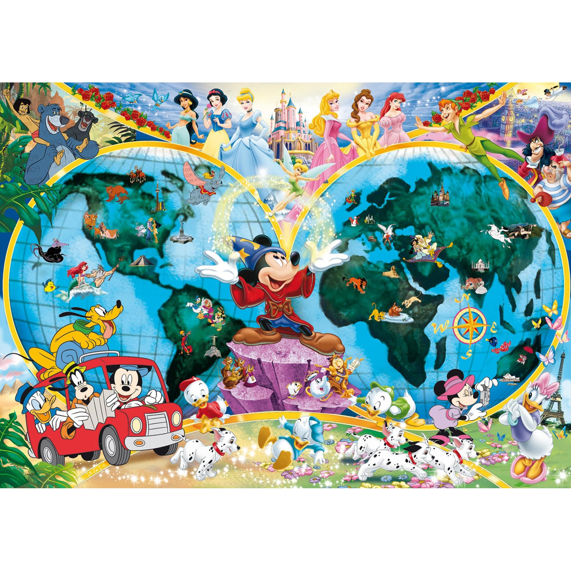Ravensburger disney world map 1000 piece puzzle 1300 hamleys ravensburger disney world map 1000 piece puzzle 1300 hamleys for ravensburger disney world gumiabroncs Images