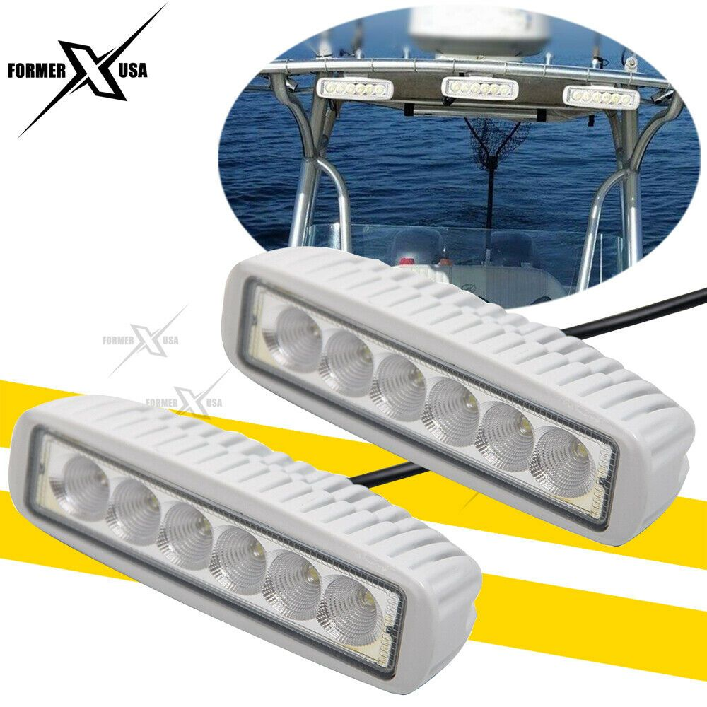 Sponsored Ebay Pair Spreader Led Marine Navigation Deck Lights For Boat Flood Beam Light 12v Deck Lights Marine Led Lights Beams