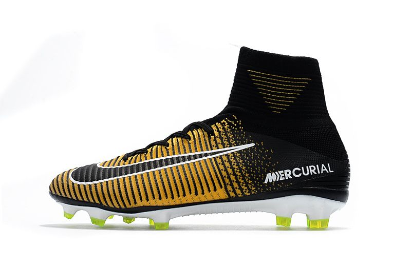 barbería alineación Jarra  Mens Nike Mercurial Superfly V FG - Gold/Black/White | Superfly, Soccer  boots, Nike men