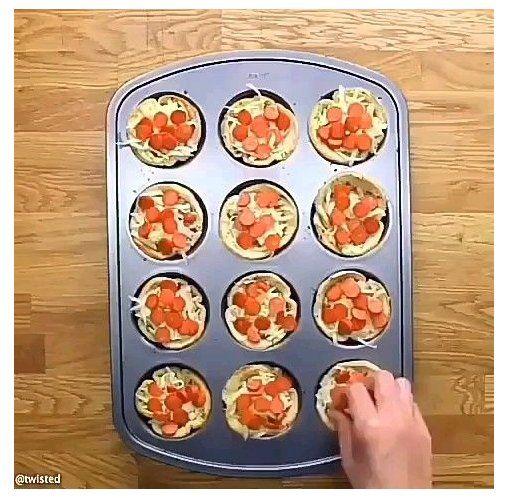 diy mini pizza