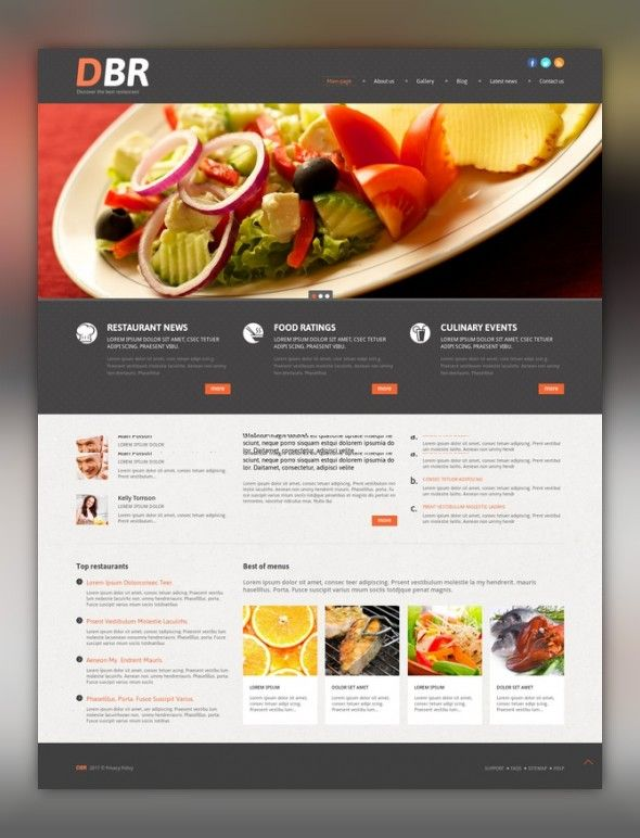 European Restaurant Responsive WordPress Theme Wordpress Template - Restaurant template wordpress