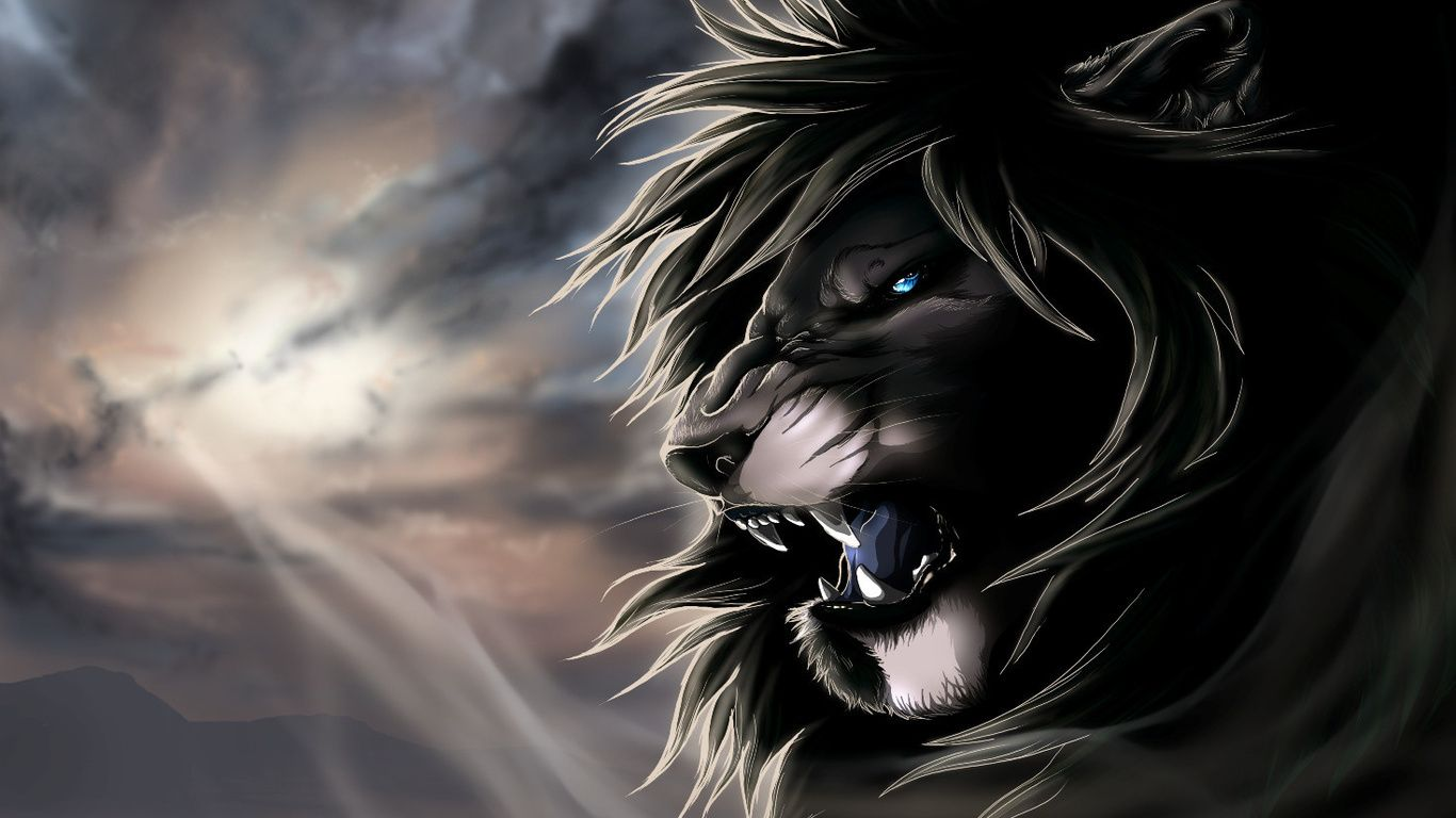 Angry Lion Wallpapers Phone Tiger High Resolution Fire Roar Dragon