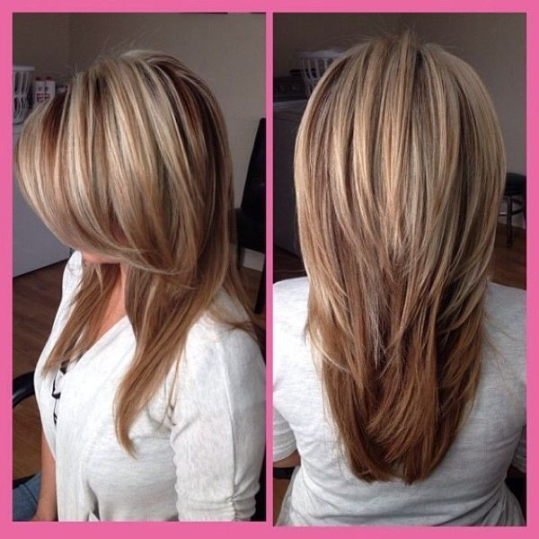 Pin On Layered Hair Cut Love Color Too