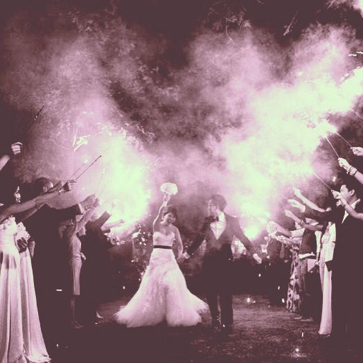 Wedding Entrance Sparklers Enzoani Dress Bali Wedding Wedding