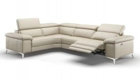 Eckgarnitur Sofa Mit Relaxfunktion In Leder Sofanella Best Design