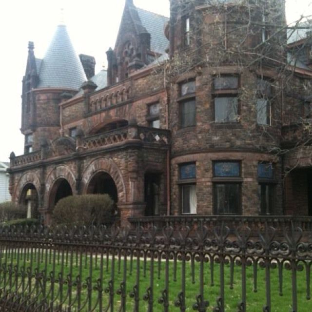A Really Cool And Creepy Mansion In Ohio!