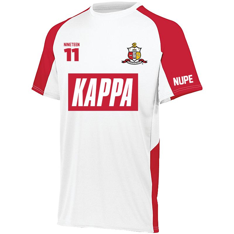 Kappa Alpha Psi Home Soccer Jersey in 2019 | Fraternity
