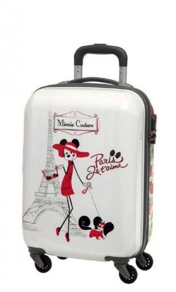 fba78b455046d Trolley Rigido 55 cm Disney Minnie Paris Couture - TocTocShop.com -  Fantastico per i Bambini, Imbattibile nei Prezzi