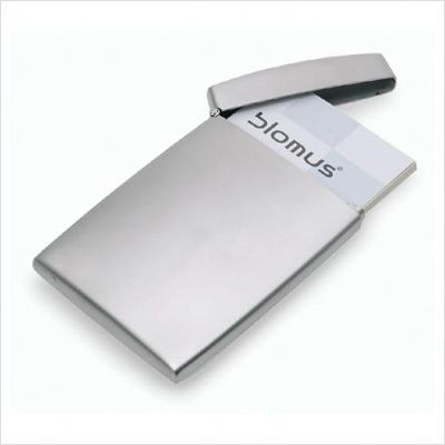 Blomus Gentleman S Business Card Case With Top Business Card Case Business Card Holders Business Cards