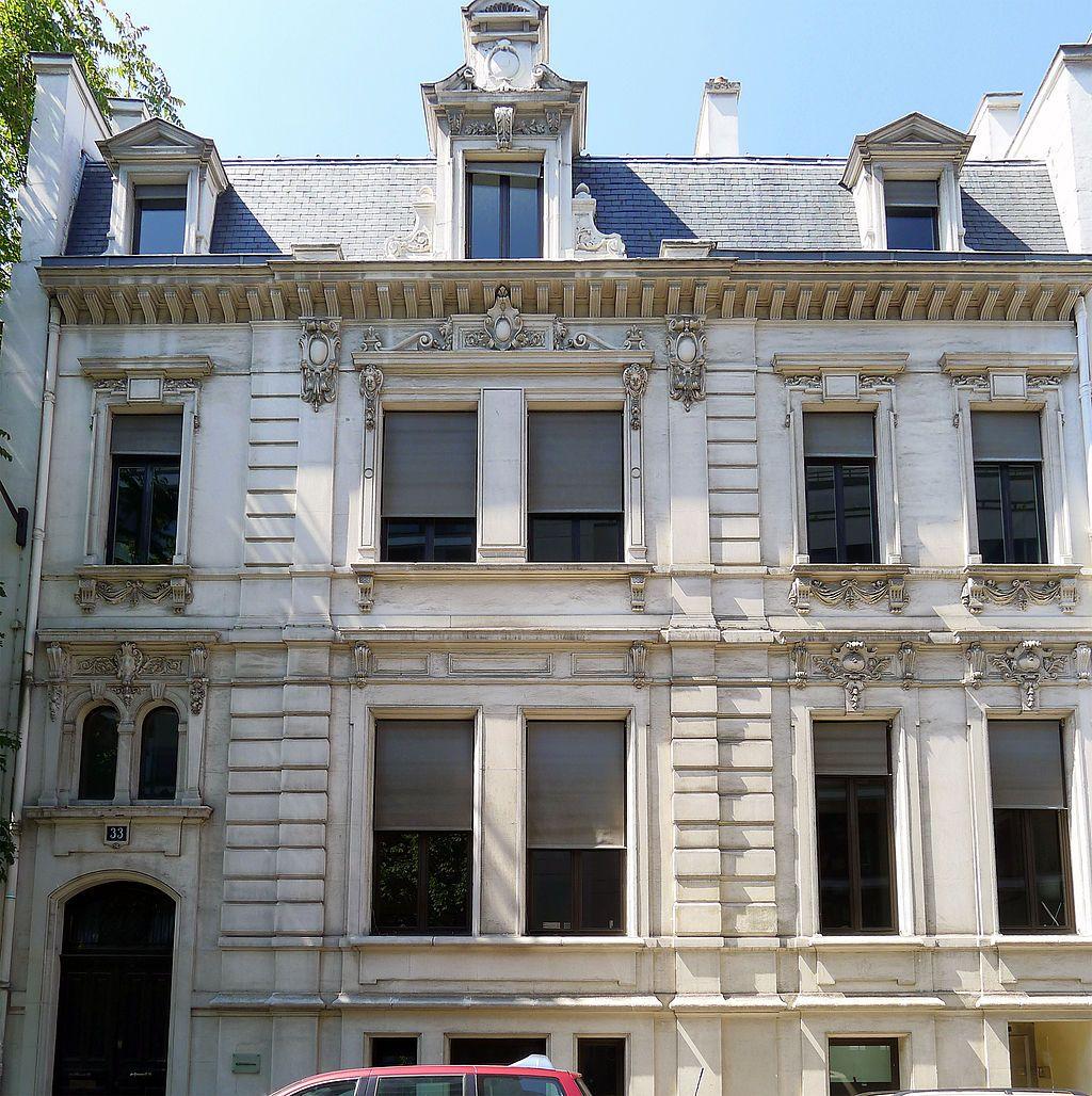 h tel lebaudy xixe 33 rue de monceau paris 75008 paris des h tels particuliers. Black Bedroom Furniture Sets. Home Design Ideas