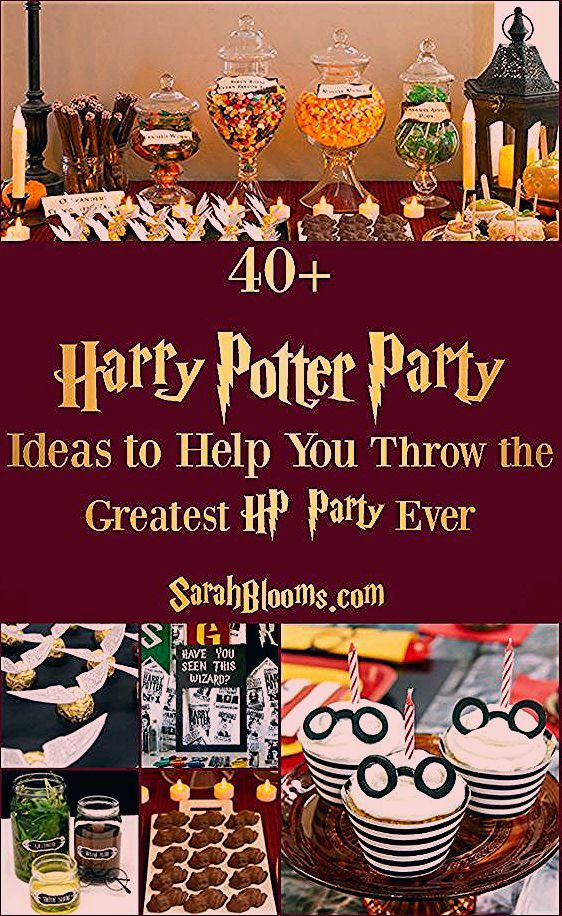 55 Best Ever Harry Potter Party Ideas - Sarah Blooms