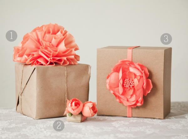 Easy Gift Wrapping Using Brown Paper Bags From The Grocery Store
