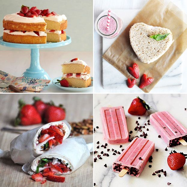 Will you be eating strawberries this Valentines? Here are 20 delicious strawberry recipes to make your loved ones this Valentine's day. xoxo