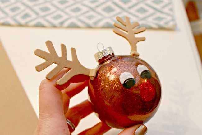 Rudolph Ornament - Day 12 of 12 Days of Christmas Ornaments ...